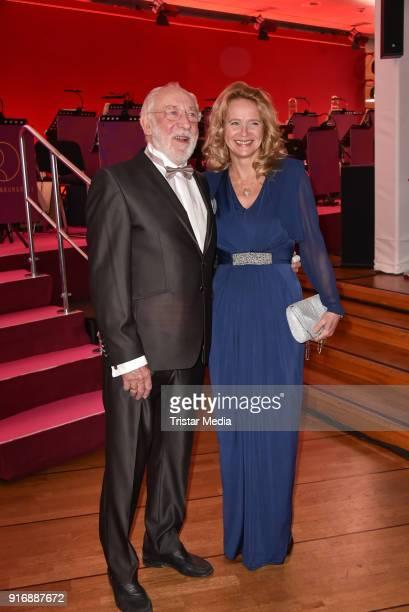 Dieter Hallervorden and Christiane Zander attend the 18th Brandenburg Ball on February 10 2018 in Potsdam Germany
