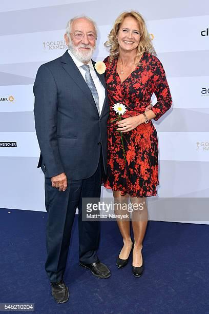 Dieter Hallervorden and Christiane Zander attend the summerparty of Produzentenallianz on July 5 2016 in Berlin Germany