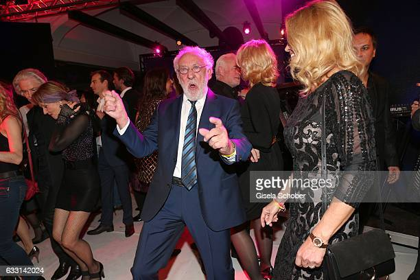 Dieter Hallervorden and his girlfriend Christiane Zander dance during the Lambertz Monday Night 2017 at Alter Wartesaal on January 30 2017 in Cologne...