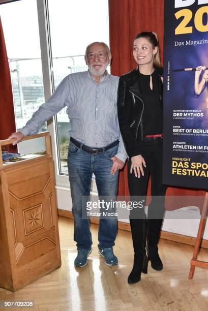 Dieter Hallervorden and Ruth Spelmeyer during the BERLIN2018 Magazin ReleaseParty on January 19 2018 in Berlin Germany