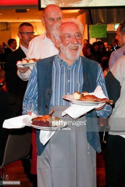 Dieter Hallervorden during the Frank Zander Charity Dinner For Homeless on December 19 2017 in Berlin Germany