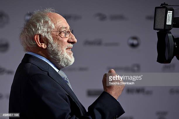 Dieter Hallervorden reacts during the German Sustainability Award 2015 at Maritim Hotel on November 27 2015 in Duesseldorf Germany
