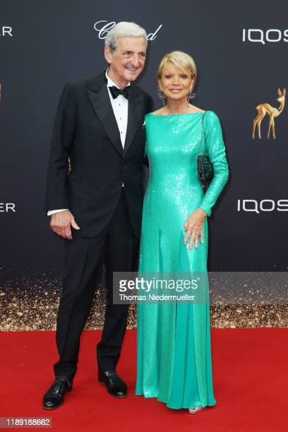 Dieter Hermann and Uschi Glas attend the 71st Bambi Awards at Festspielhaus BadenBaden on November 21 2019 in BadenBaden Germany
