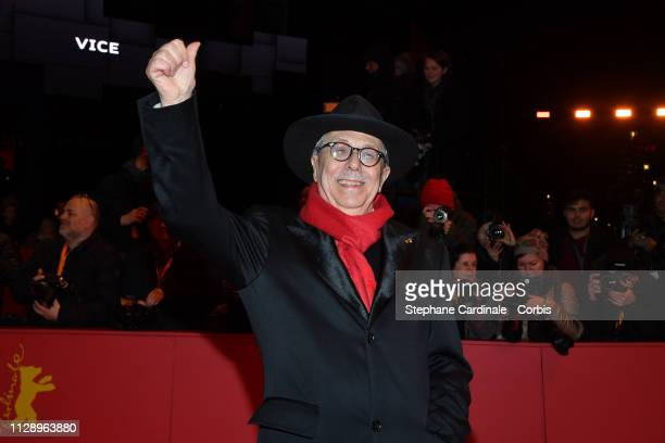 Dieter Kosslick poses at the Vice premiere during the 69th Berlinale International Film Festival Berlin at Berlinale Palace on February 11 2019 in...