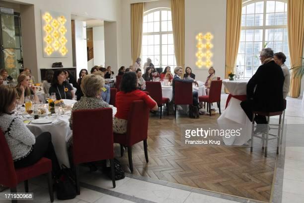 Dieter Kosslick Und Inga Griese Schwenkow Beim Dkms Ladies Lunch In Berlin