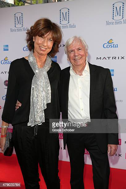 Dieter Kuerten and his wife Petra Kuerten attend the Movie meets Media party during the Munich Film Festival on June 29 2015 in Munich Germany
