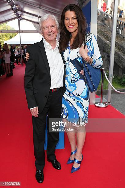 Dieter Kuerten and Marion Kiechle attend the Movie meets Media party during the Munich Film Festival on June 29 2015 in Munich Germany