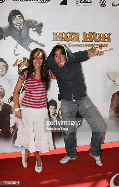 Dieter Landuris And Daughter At The Premiere Of Fanny Hui Buh The Goofy Ghost At The Mathäser movie palace in Munich 160706