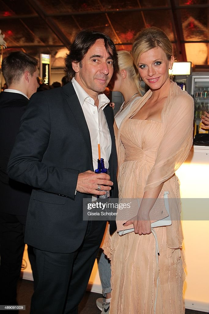 Dieter Landuris and Eva Habermann attend the LOLA - German Film Awards 2014 (Deutscher Filmpreis) after show party at Tempodrom on May 9, 2014 in Berlin, Germany.
