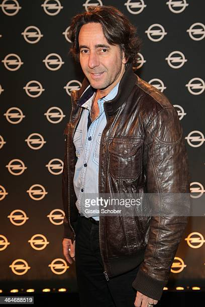 MUNICH GERMANY JANUARY Dieter Landuris attends the presentation and vernissage of the calender 'THE ADAM BY BRYAN ADAMS' for Opel at Haus der Kunst...