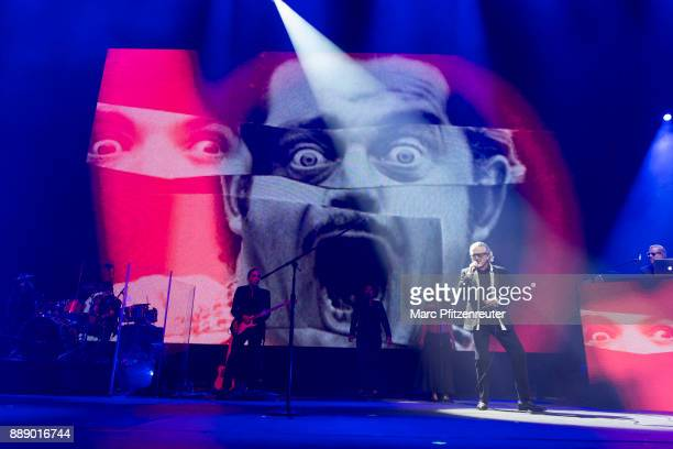 Dieter Meier of Yello performs onstage at the Lanxess Arena on December 9 2017 in Cologne Germany
