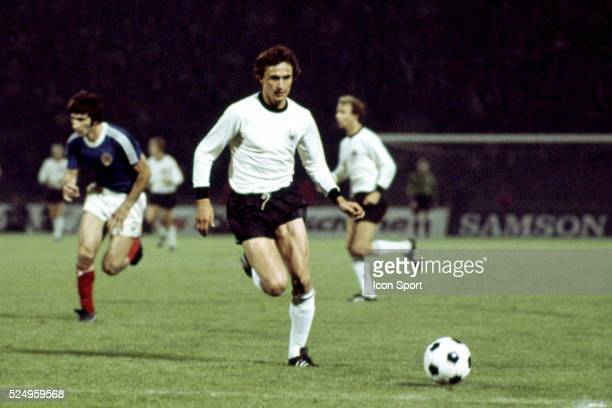 Dieter Muller of West Germany during the European Championship match between West Germany and Yugoslavia in Stadium Crvena Zvezda Belgrad Yugoslavia...