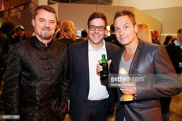 Dieter Nuhr and Guests attend the 19th Annual German Comedy Awards at Coloneum on October 20 2015 in Cologne Germany