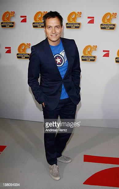 Dieter Nuhr arrives for the Quatsch Comedy Club 20th Anniversary gala on February 1 2012 in Berlin Germany