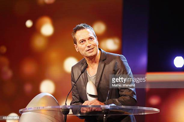 Dieter Nuhr attends the 19th Annual German Comedy Awards at Coloneum on October 20 2015 in Cologne Germany