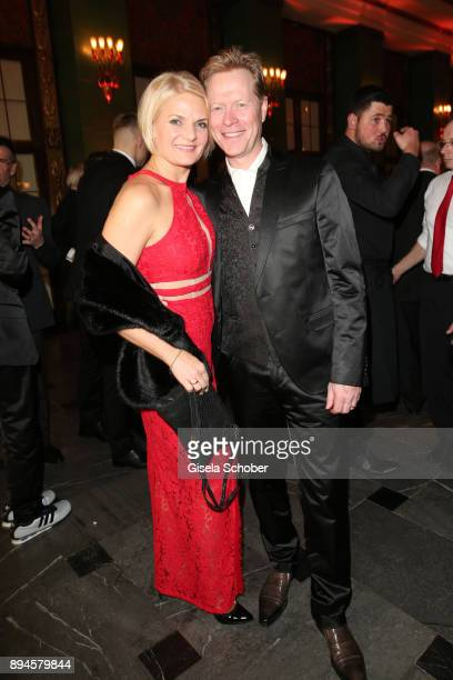 Dieter Thoma and his wife Mandana Thoma during the 'Sportler des Jahres 2017' Gala at Kurhaus BadenBaden on December 17 2017 in BadenBaden Germany