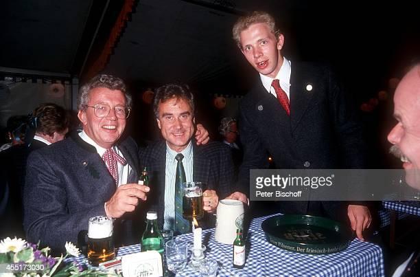 Dieter Thomas Heck Kurt Felix Thomas Kim Heckscher Schlossfest 1987 am im Schloß Aubach bei BadenBaden Deutschland