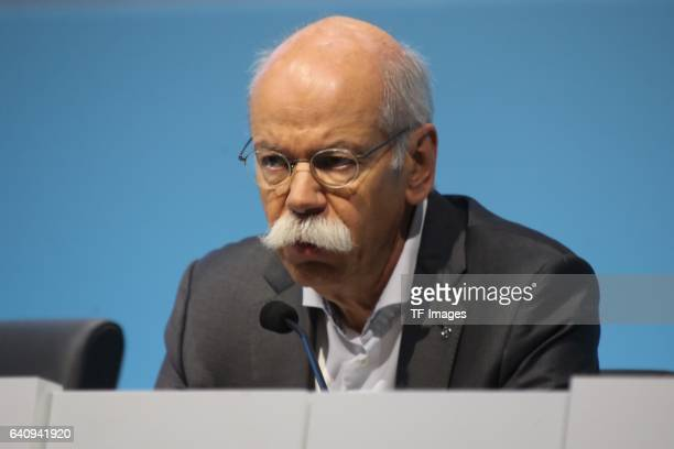 Dieter Zetsche CEO of Daimler AG attends the Daimler AG annual press conference on February 2 2017 in Stuttgart Germany
