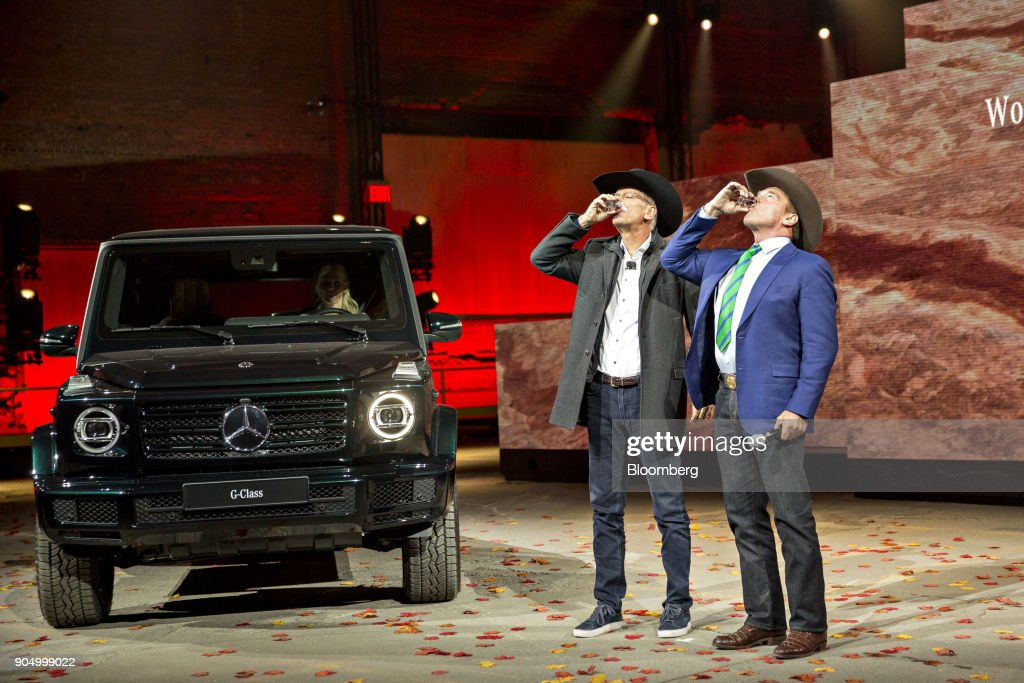 Mercedes-Benz Reveal Event During The 2018 North American International Auto Show
