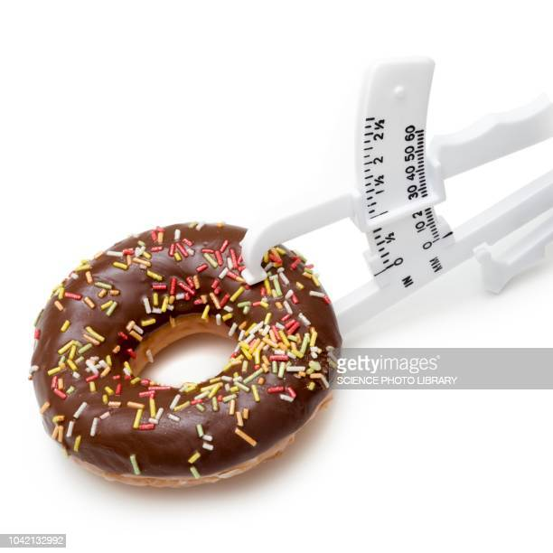 dieting, conceptual image - skin fold calliper stock pictures, royalty-free photos & images