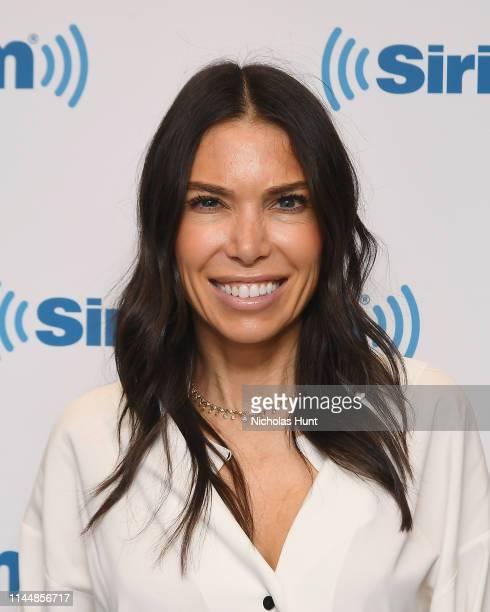 Dietitian Tanya Zuckerbrot visits SiriusXM Studios on April 24, 2019 in New York City.