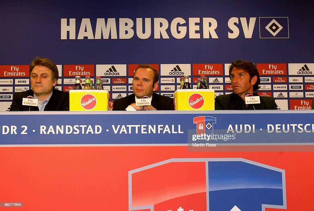 Hamburger SV Presents New Head Coach : News Photo