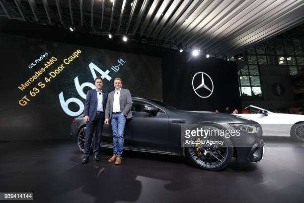 Mercedes amg im genes y fotograf as getty images for Mercedes benz usa dietmar exler
