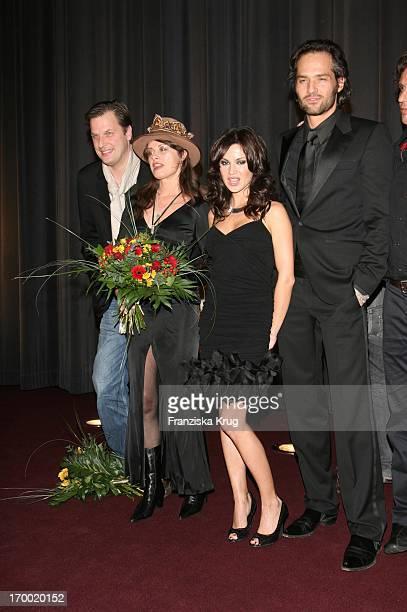Dietmar Güntsche Uschi Obermaier Natalia Avelon And Achim Bornhak In the The Wild Life movie premiere in Mathäser In Munich