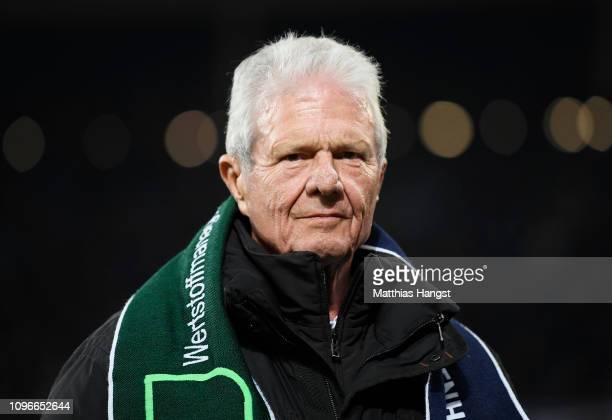 Dietmar Hopp seen during the Bundesliga match between TSG 1899 Hoffenheim and FC Bayern Muenchen at PreZeroArena on January 18 2019 in Sinsheim...