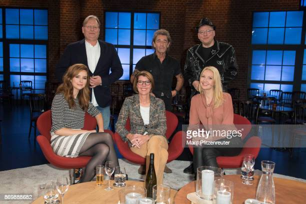 Dietrich Groenemeyer Peter Maffay Rosa von Praunheim Katrin Bauerfeind Bettina Boettinger and Constanze Behrends attend the 'Koelner Treff' TV Show...