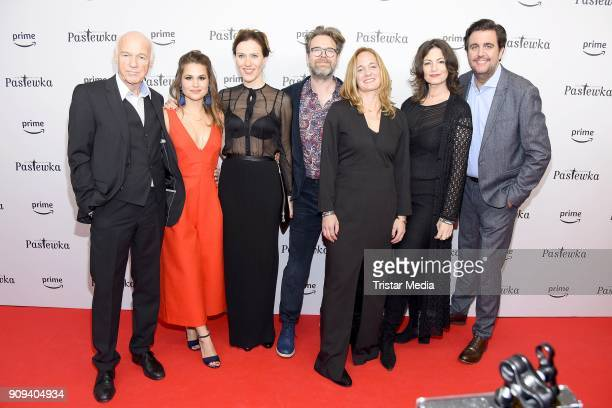 Dietrich Hollinderbaeumer, Cristina do Rego, Bettina Lamprecht, Matthias Matschke, Sonsee Neu, Sabine Vitua and Bastian Pastewka attend the...