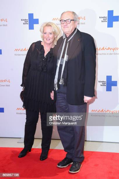 Dietrich Mattausch and partner Annette attend the 19th Media Award by Kindernothilfe on November 3 2017 in Berlin Germany
