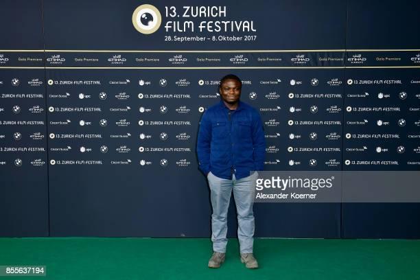 Dieudo Hamadi attends the 'Maman Colonelle' photocall during the 13th Zurich Film Festival on September 29 2017 in Zurich Switzerland The Zurich Film...