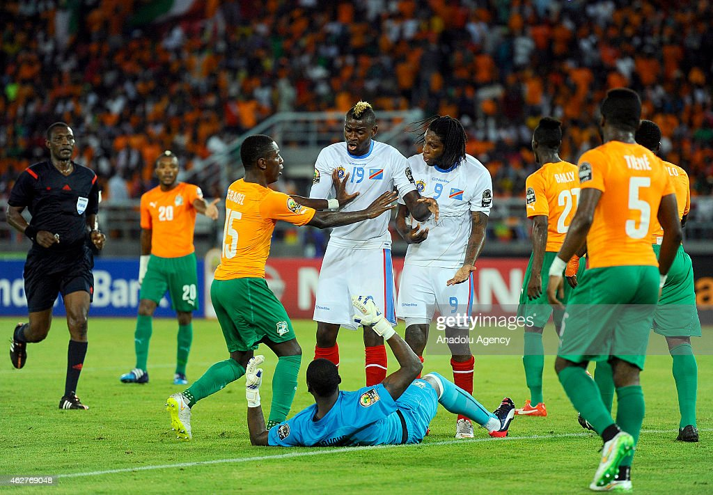 Democratic Republic of The Congo v Ivory Coast - 2015 African Cup of Nations