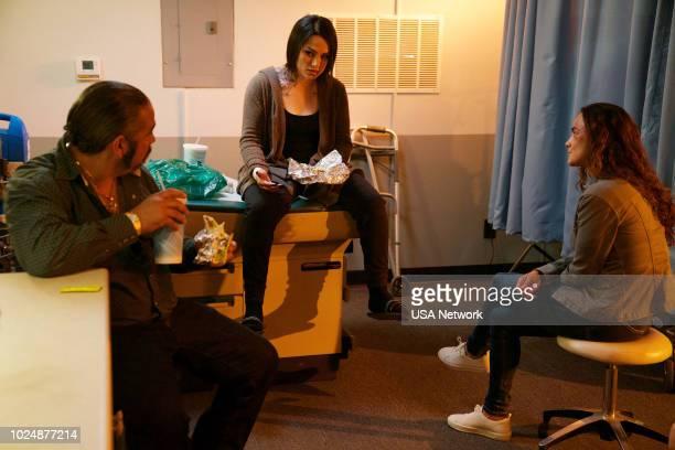 SOUTH 'Diez de Copas' Episode 311 Pictured Hemky Madera as Pote Snow Tha Product as Lil Traviesa Alice Braga as Teresa Mendoza