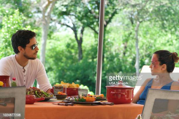 SOUTH 'Diez de Copas' Episode 311 Pictured Peter Gadiot as James Valdez Alice Braga as Teresa Mendoza