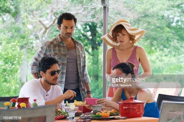 SOUTH 'Diez de Copas' Episode 311 Pictured Peter Gadiot as James Valdez Felipe Barrientos as The Charger Molly Burnett as Kelly Van Anne Awken Alice...