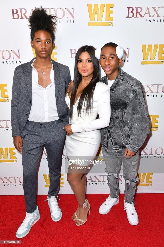 "WE tv Celebrates The Premiere Of ""Braxton Family Values"" : News Photo"