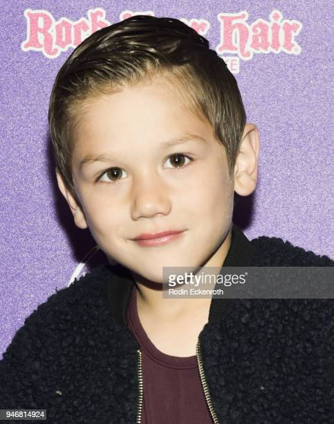 Diezel Ortiz attends Hayden Summerall's 13th Birthday Bash at Bardot on April 15 2018 in Hollywood California