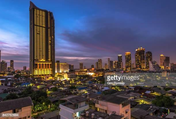 Difference bangkok city view