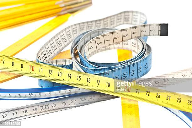 different benchmarks metering rule abstract - meter unit of length stock pictures, royalty-free photos & images