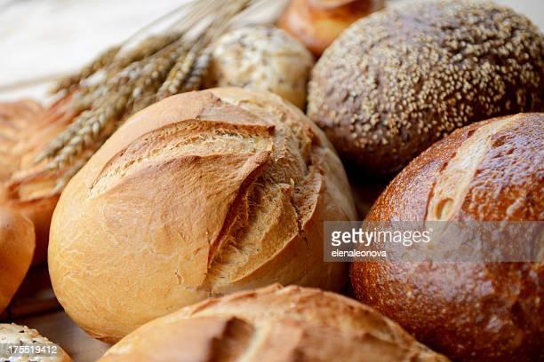 Pão de diferentes