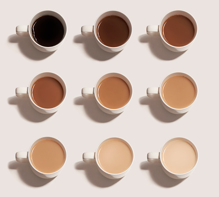 different choices of tea and coffee - gettyimageskorea