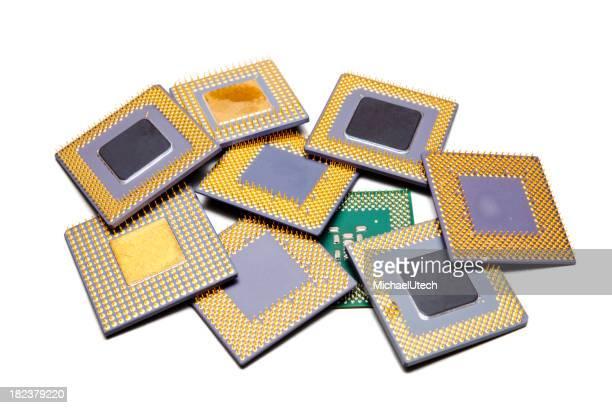 Verschiedene CPUs auf einem Haufen
