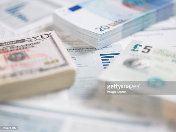 Different currencies on paperwork