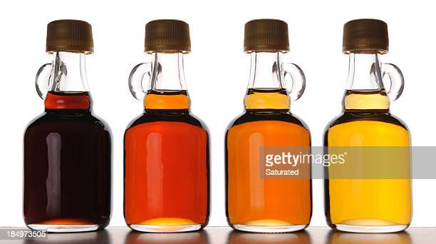 Different Grades of Maple Syrup