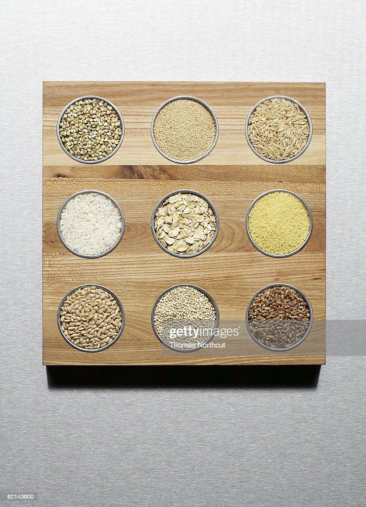 different grains : Stock Photo