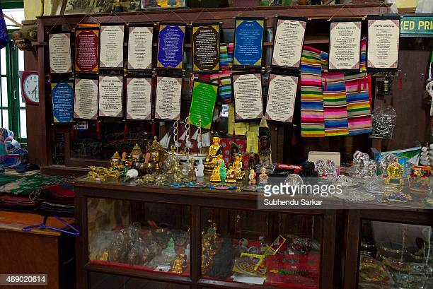 Different handicraft products are on sale at the Tibetan Refugee Self Help Centre The Tibetan Refugee Self Help Centre of Darjeeling was started on...