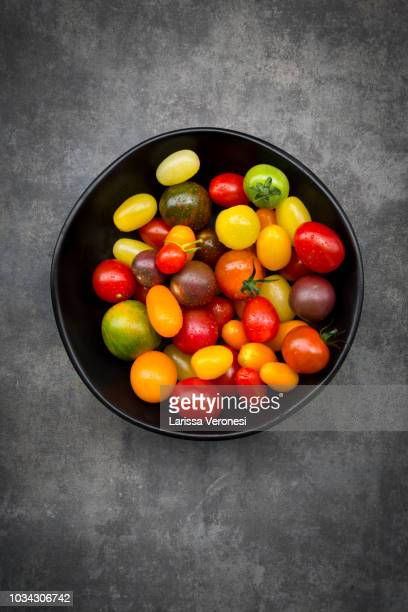different heirloom tomatoes