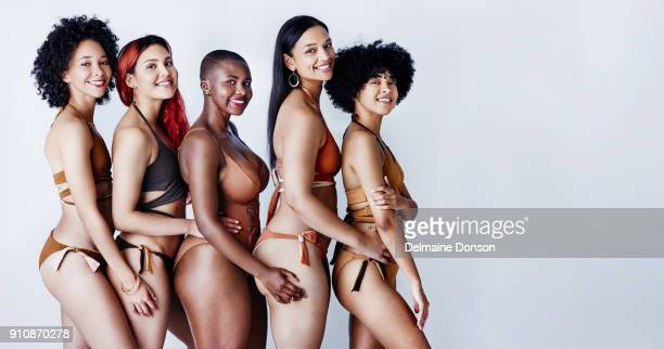 different is the new beautiful - chubby swimsuit stock photos and pictures